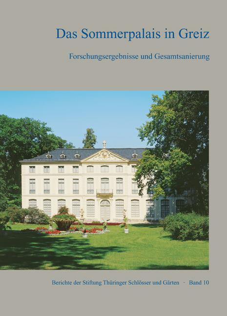 Thu ringer Schlo sser und Ga rten – Sommerpalais Greiz UMSCHLAG_