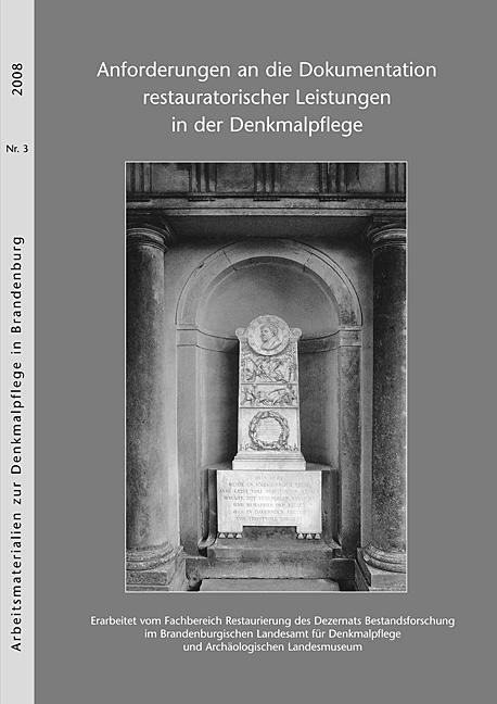 Dokumentation restauratorischer Leistung-titel