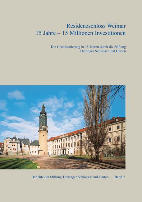 Residenzschloss Weimar-Umschlag