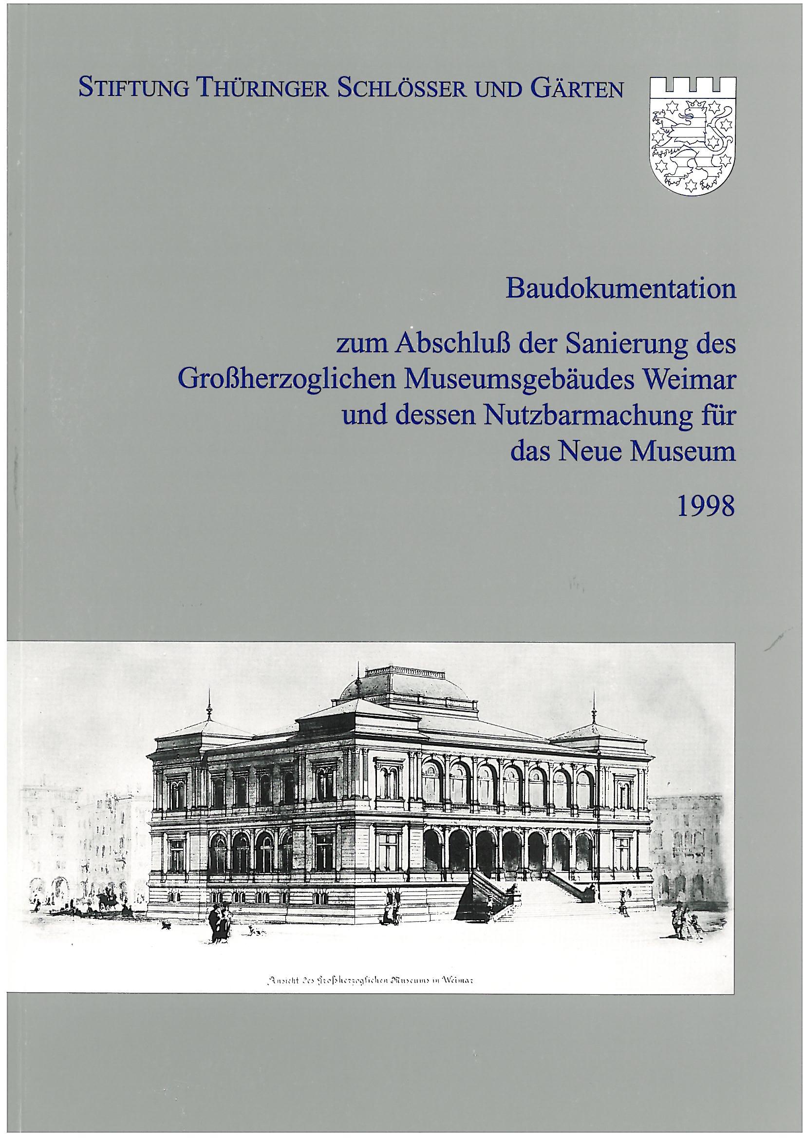 Stiftung Thüringer Schlösser und Gärten Band 1